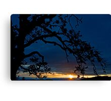 Ankeny Hill Sunset Canvas Print