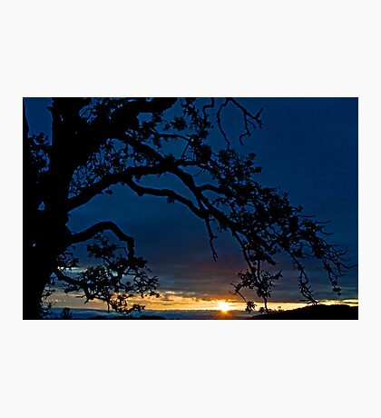 Ankeny Hill Sunset Photographic Print