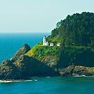 Summertime At Heceta Head by Nick Boren