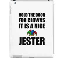 Nice Jester iPad Case/Skin