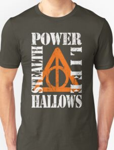 Hallows (P.L.S.H) WHITE / ORANGE T-Shirt