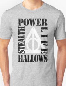 Hallows (P.L.S.H) BLACK / WHITE T-Shirt