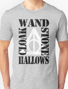 Hallows (W.S.C.H) BLACK / WHITE T-Shirt
