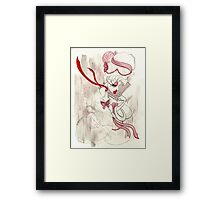 Rose de Charme Framed Print