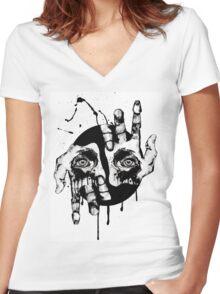 Judgement  Women's Fitted V-Neck T-Shirt