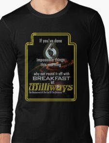 Milliways 6 things Long Sleeve T-Shirt