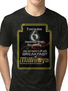 Milliways 6 things Tri-blend T-Shirt