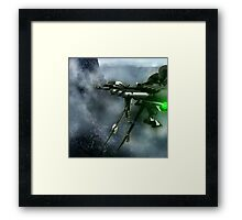 Air Mobile Security Towers Framed Print