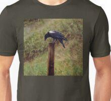 White Wing (Raven) Unisex T-Shirt