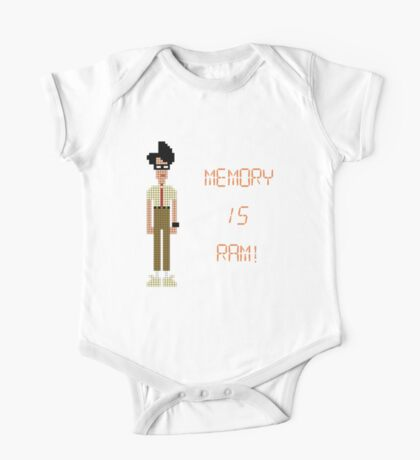 The IT Crowd – Memory IS RAM! One Piece - Short Sleeve