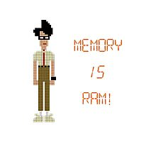 The IT Crowd – Memory IS RAM! Photographic Print