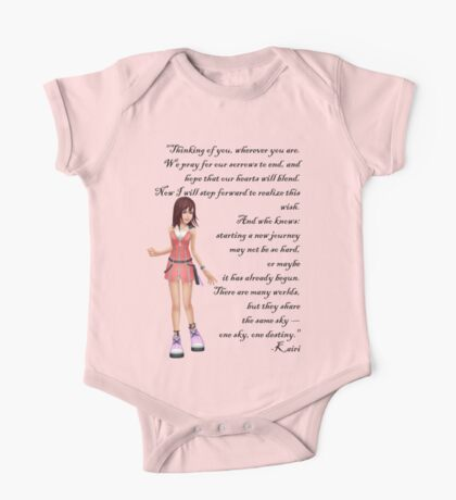 """Kairi """"Thinking Of You, Wherever You Are"""" One Piece - Short Sleeve"""