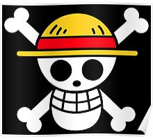 One Piece - Straw Hat Pirates Flag Poster
