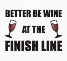Wine At Finish Line by AmazingMart