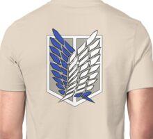 Shingeki no kyojin - Scouting legion Unisex T-Shirt