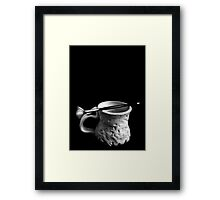One Brush Framed Print