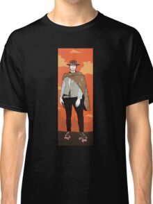 The man with no name but with some skates (with background) Classic T-Shirt