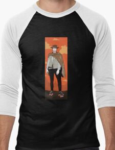 The man with no name but with some skates (with background) Men's Baseball ¾ T-Shirt