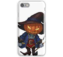 Jack-o-lantern in a hat iPhone Case/Skin