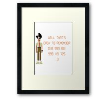 The IT Crowd – 0118 999 881 999 119 725 …3 Framed Print