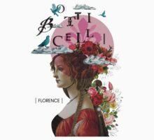 Collage italian Florence spirit renaissance by Vinchenko