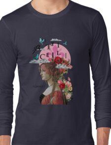 Collage italian Florence spirit renaissance Long Sleeve T-Shirt