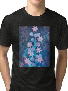 Flowers 'n' Lace Tri-blend T-Shirt