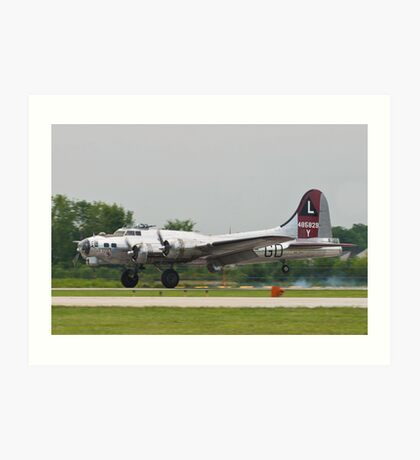 Yankee Lady Arrives Art Print