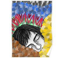 Sleepy head. Poster