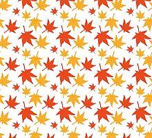 Maple leaves by kylmaviha