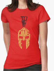 Tonight we dine in HELL!! Womens Fitted T-Shirt