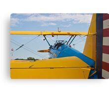 Tail shot of A Boeing Stearman #531 Canvas Print