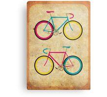 CMYK Bikes ~ Series 1 Metal Print
