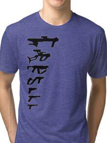 GunPlay Shadow Shot Tri-blend T-Shirt