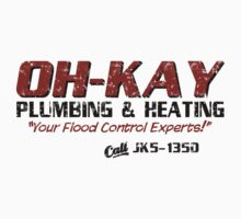 Wet Bandits OH-KAY Plumbing Distressed by waywardtees