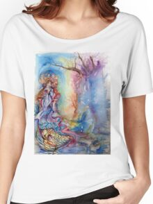 LADY OF LAKE  / Magic and Mystery Women's Relaxed Fit T-Shirt