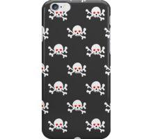 Skulls with crossbones iPhone Case/Skin