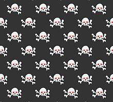 Skulls with crossbones by kylmaviha