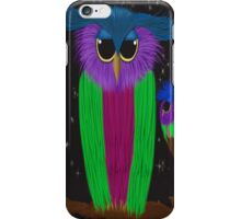 The Prismatic Crested Owl iPhone Case/Skin