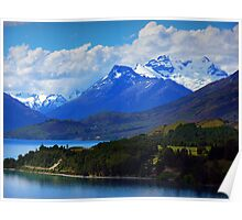 On the way to Glenorchy Poster