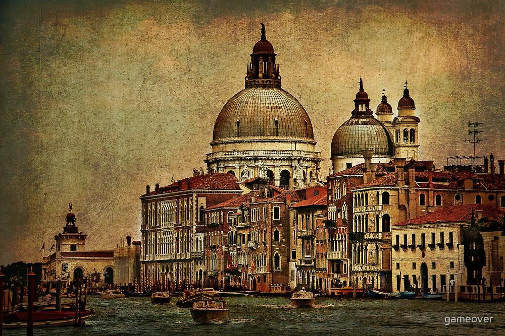 Venice Canal Grande by Luisa Fumi