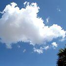 Puffy cloud and blue sky by Shiju Sugunan