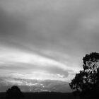 Dark night sky by EldaE