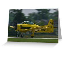 138239, N726A T-28B Trojan taking off Greeting Card