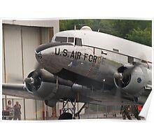 "C-47B Skytrain ""Yankee Doodle Dandee"" taxis Poster"