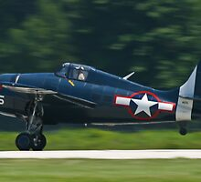F4F Wildcat landing by Henry Plumley