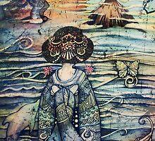 vintage geisha by © Cassidy (Karin) Taylor