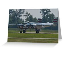 44-30734 1944 North American B-25N Mitchell taxis  Greeting Card