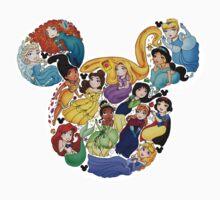 Princess Mickey Ears Kids Clothes