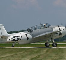 NL9584Z TBM-3 Avenger taxis by Henry Plumley